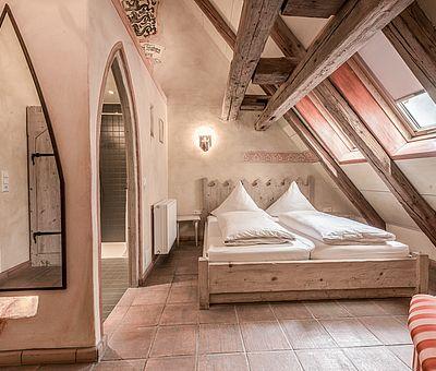 Doppelzimmer, Hotel Arthus, mittelalterlicher Bereich
