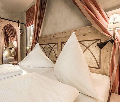Schlafbereich Junior Suite Norbertus, Hotel Arthus