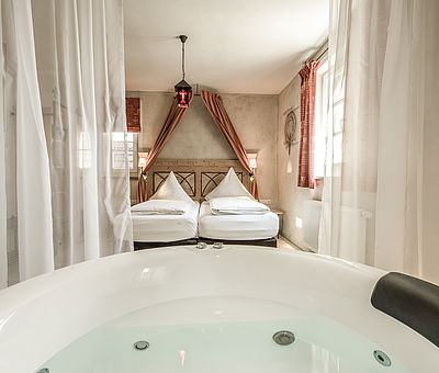 Whirlwanne Junior Suite Norbertus, Hotel Arthus