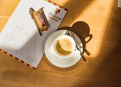 Kreativ Tagen und Feiern, Tagung, Hotel Arthus, Tagungsraum Ritterstube, Kaffee, Block, IO, Aulendorf