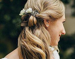 Braut, Details am Hochzeitstag, Frisur, Hochsteckfrisur, Dein perfekter Tag