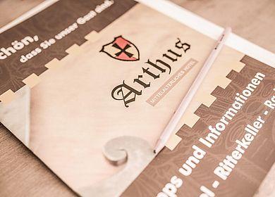 Details Hotel Arthus, Informationsheft A-Z, Schön, dass Sie unser Gast sind