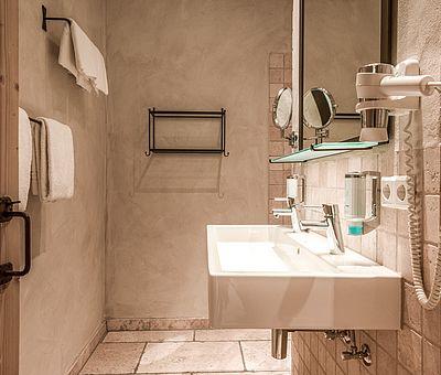 Badezimmer Themenzimmer Ambrosius, Hotel Arthus