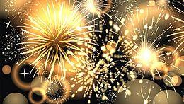 Silvester, Jahreswechsel im Hotel Arthus, Ins neue Jahr feiern, Neujahresfeier, Feuerwerk