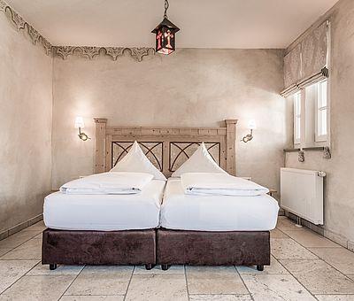 Doppelzimmer, Hotel Arthus, klösterlicher Bereich