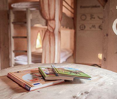 Details Kinderbereich, Themenzimmer Schwarzer Veri, Hotel Arthus